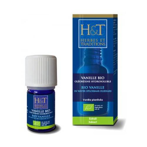 HE Vainilla (Vanilla planifolia) Oleorresina orgánica soluble en agua
