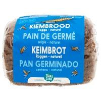 Naturalny chleb żytni na kiełkach