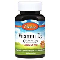 Gomitas de vitamina D3 de Fruta 1000UI