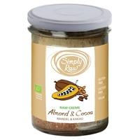 Crema Crudivegana de Almendras y Cacao Bio