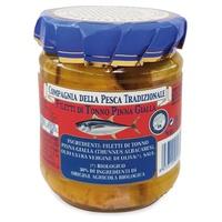 Tuna fillets in extra virgin olive oil (EVO)