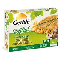 Hamburguesa de Cereales con Champiñones