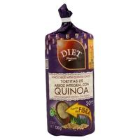 Tortitas Arroz y Quinoa Sin Gluten
