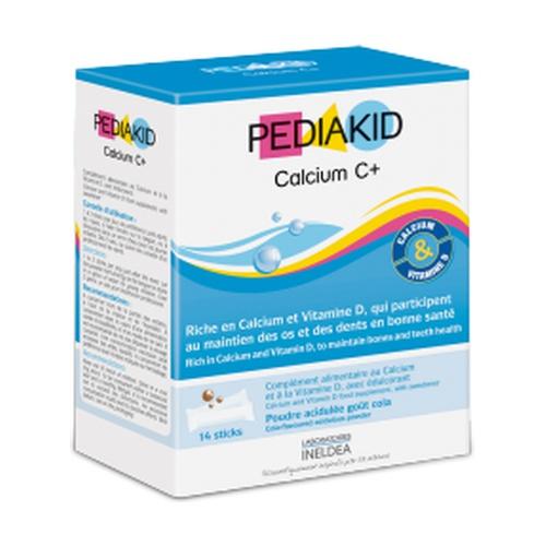 Pediakid Calcio Crecimiento C+ (Sabor Cola)