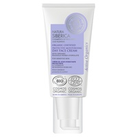 Moisturizing and protective facial day cream