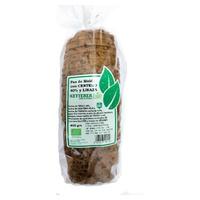 Chleb Żytni z Organicznym Nasieniem Lnianym