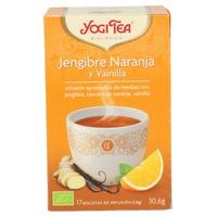 Tè zenzero, arancia, vaniglia