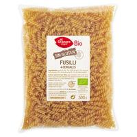 Pasta Fusilli de 4 Cereales Sin Gluten Bio