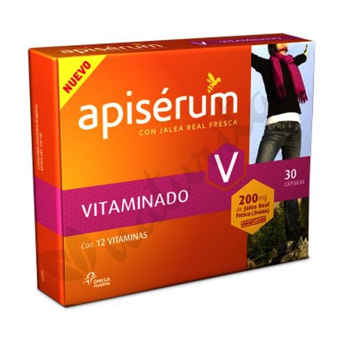 Apiserum vitaminado 30 cápsulas de Apiserum
