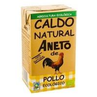 Caldo Natural de Pollo Ecológico