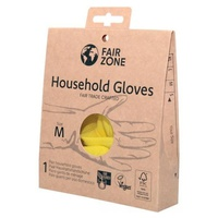 100% naturalne rękawice lateksowe do użytku domowego, rozmiar M, bez plastiku