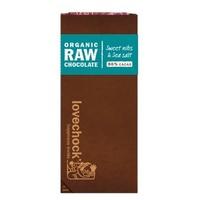 Tabletas de cacao con sal marina 86 % Caja de 8 unidades de Vitafood Raw
