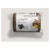 Organic seaweed and eggplant burger Bio