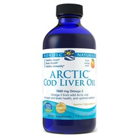 Arctic Cod Liver Oil 1060 mg Lemon