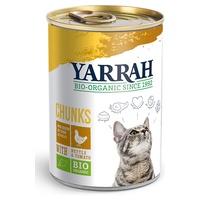 Comida para Gatos adultos de Trozos de Pollo y Ortiga en salsa de Tomate