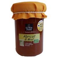 Confiture abricot et miel bio