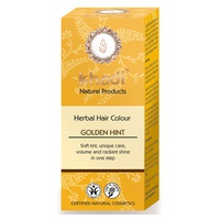 Tinte vegetal (herbal color) rubio toque dorado 100 g de KHADI