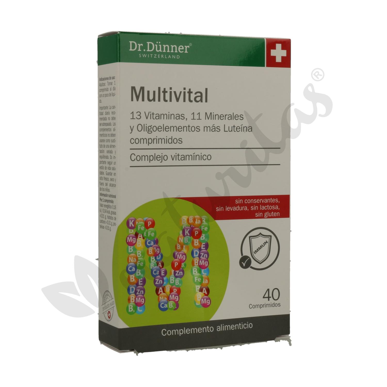 e38b78646c8f2d Multivital Dr. Dunner 40 comprimidos de Dr. Dunner | Naturitas