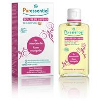 Aceite ecológico belleza de la piel - siempreviva y rosa mosqueta