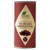 Sal de coco, hibiscus y chili