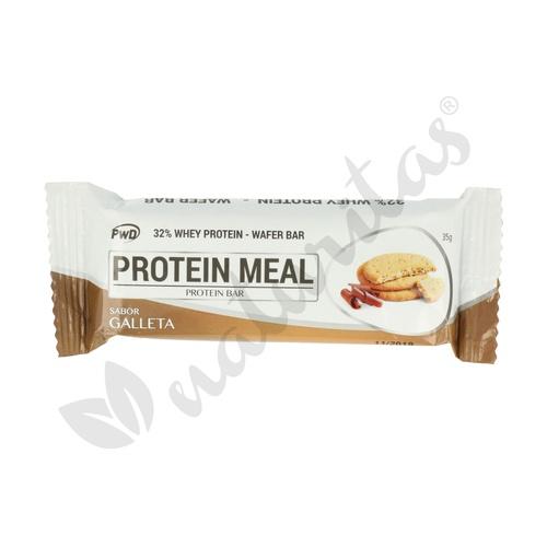 Barritas Proteicas (sabor Galleta) 12 unidades de 35 gr de Pwd