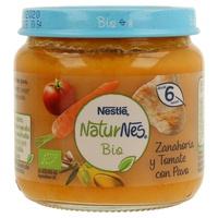 NaturNes Bio de Zanahoria y Tomate con Pavo