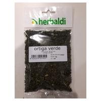 Hierba Ortiga Verde Triturada