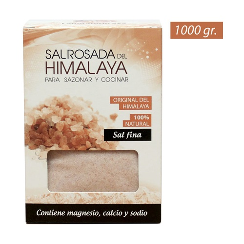 Sal fina rosada del Himalaya