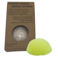 Eponge Konjac au Citron, soin de la peau
