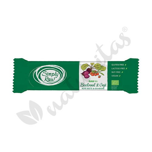 Barrita Remolacha y Goji - Simply Raw- 1 Barrita de 40 grs de Vitafood Raw