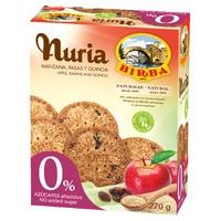 Nuria Manzana, pasas y quinoa 0%