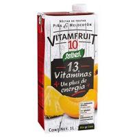 Jus d'ananas et de pêche Vitamfruit 10