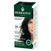 Tinte para cabello permanente 1N Negro