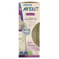 Philips Avent Biberón Natural de Cristal SCF053/17