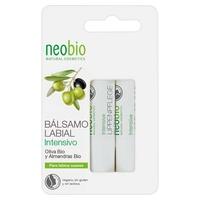 Bálsamo labial intensivo duplo (Bio Olive & Bio Amêndoas)