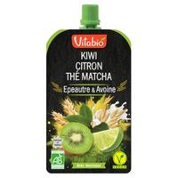 Frutas y Cereales - Limón Kiwi Matcha Espelta y Té de Avena