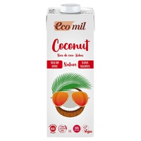 Klassisches Natur-Kokosnussgetränk