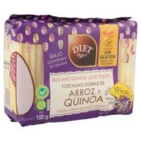 Tostadas Ligeras de Arroz y Quinoa