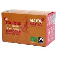 Te Rooibos (sabor naranja y canela)