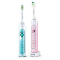 Philips Sonicare  Cepillos Dental Dúo Sónico Healthy Whyte HX6762/35