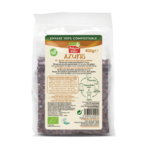Azukis bio gluten free