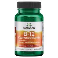 Cyanocobalamine vitamine B-12, triple action 1000 mcg