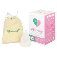 Copa Menstrual Talla S (Transparente)