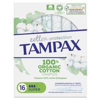 Tampax Organic Super