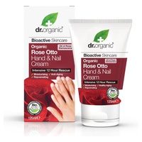 Crème bio pour les mains et les ongles à la rose