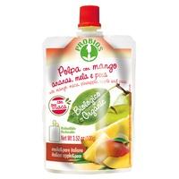 Fruchtfleisch Apfel Birne Ananas Mango mit Maca - Doypack Paket