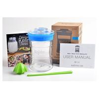 Kit Kefirko Cor Azul (Kit para Kefir)