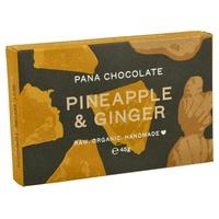 Tableta de Chocolate con Piña y Jengibre
