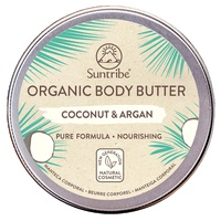 Organic body butter cocos & argan