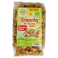 Muesli Krunchy Avena con Manzana y Canela Sin Gluten Bio